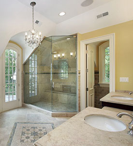 frameless shower enclosure glass