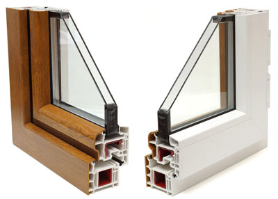 Insulated Window Cross Section